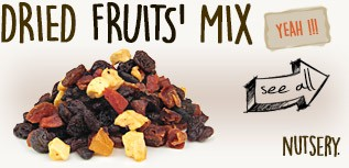 DRIED FRUITS' MIX